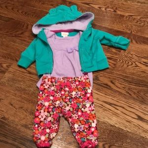 Baby girl matching outfit